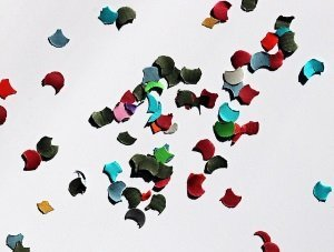 Content of confetti?